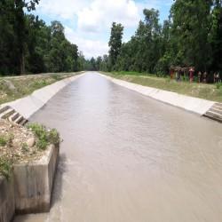 Feeder Canal Lining